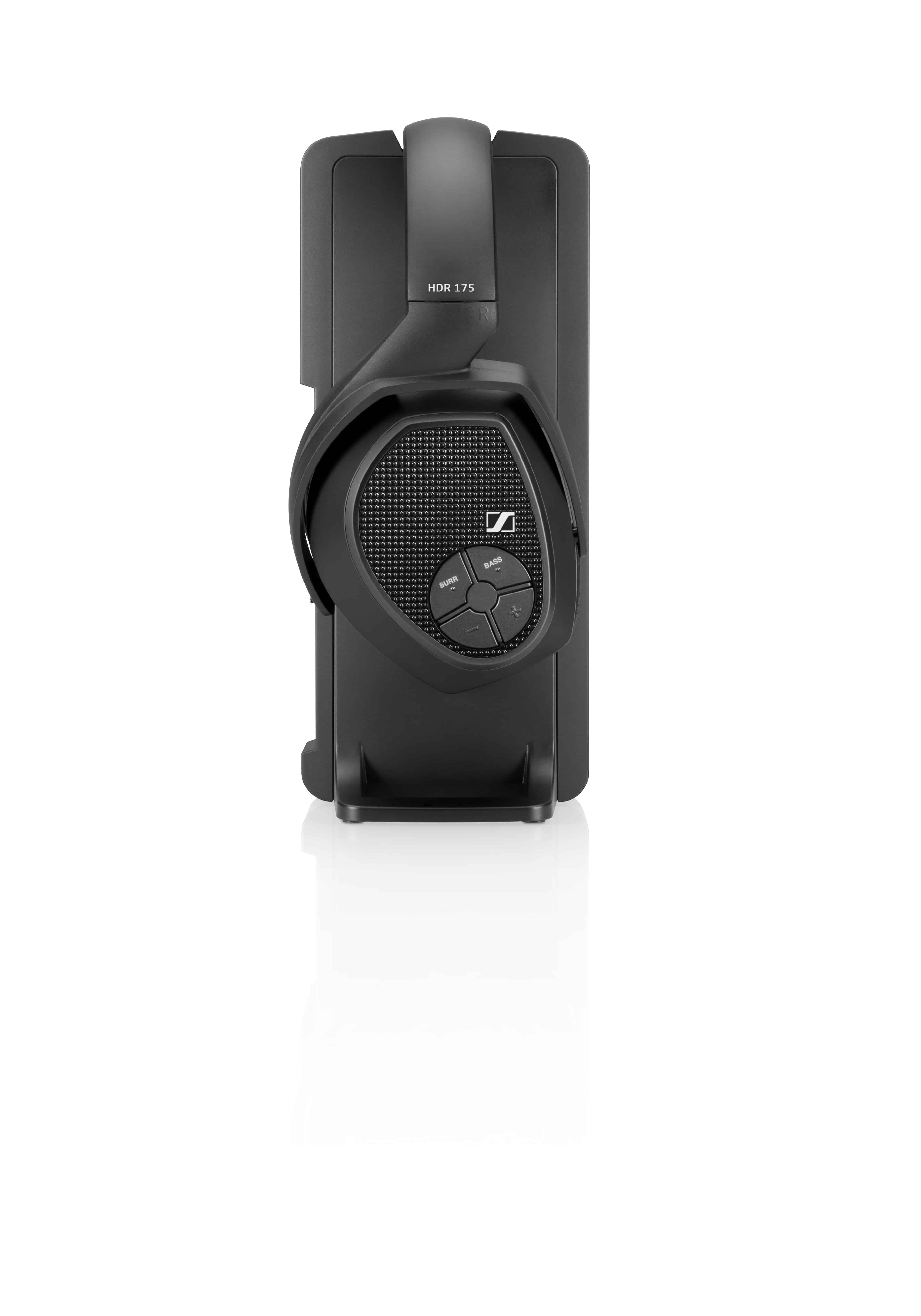 27a6a08525c Sennheiser RS 175 Closed Back RF Wireless Headphones | Audio Geek