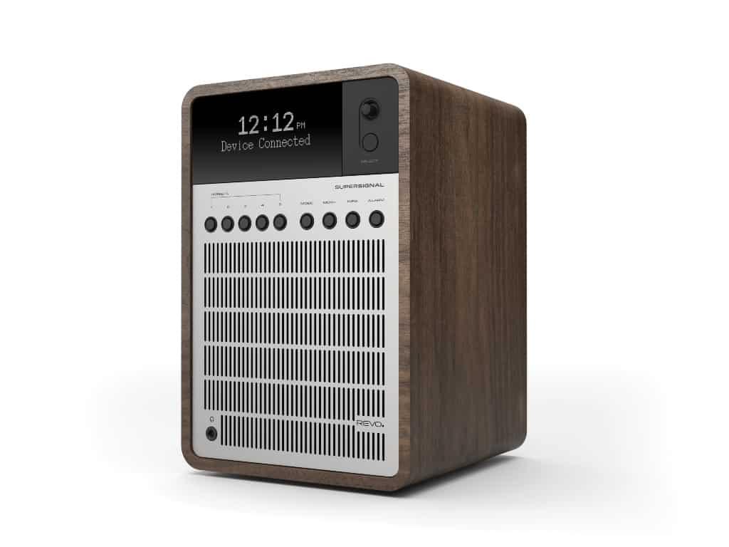 revo supersignal compact digital radio with bluetooth. Black Bedroom Furniture Sets. Home Design Ideas